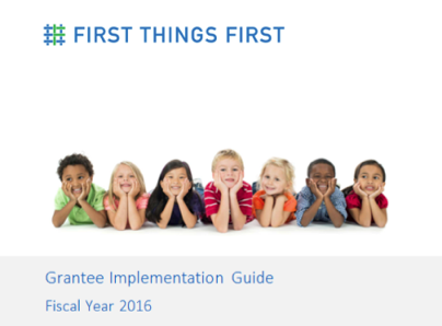 Grantee Implementation Guide FY18