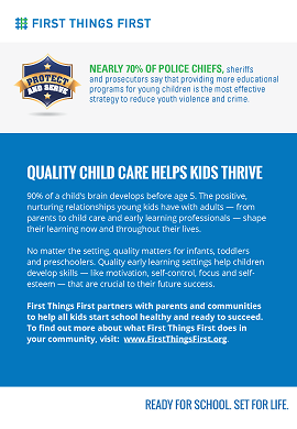 Law Enforcement – Quality Child Care