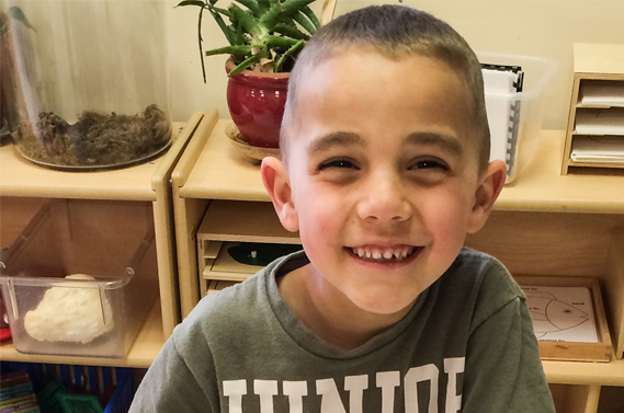 Quality learning in preschool and at home boosts Grand Canyon kindergartener's success
